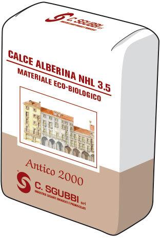Calce idraulica naturale NHL 3,5 conforme a normativa CE EN 459-1:2010