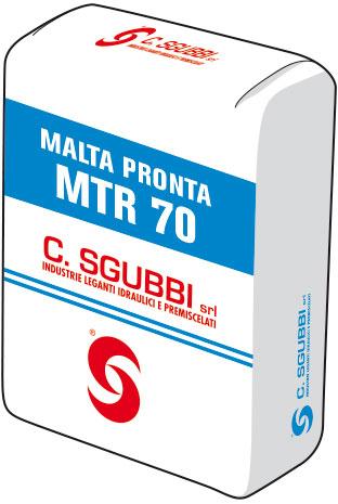 Malta termoisolante leggera per allettamento, classe M5