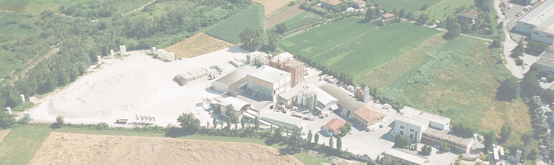 Foto aerea azienda C. Sgubbi