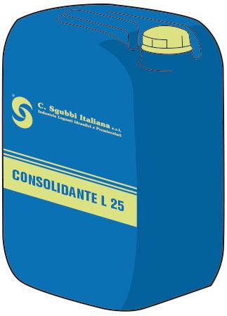 Resina acrilica polimerica per il consolidamento di intonaci, malte e rasanti in emulsione acquosa ad elevata penetrazione