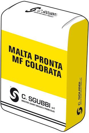 Malta pronta in sei colorazioni per realizzare murature a faccia a vista